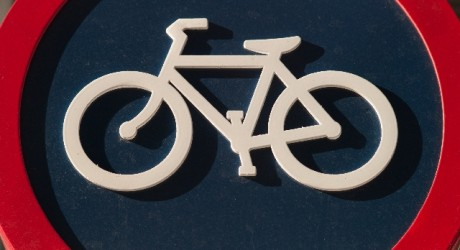 自転車標識